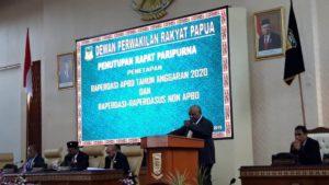 RAPBD Merupakan Sarana Mewujudkan Harapan Rakyat Papua.