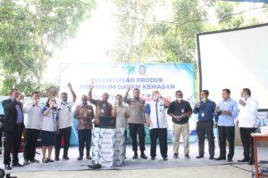 Wali Kota Jayapura Luncurkan Produk Air Mineral NanWani