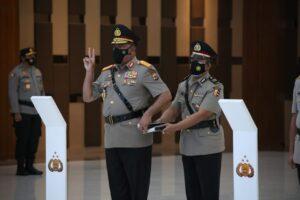 Jabat Kabaintelkam Putra Asal Papua Resmi Menyandang Bintang Tiga