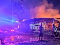 Tujuh Petak Kios Di Pasar Youtefa Ludes Terbakar