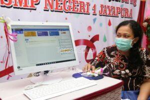 Dimasa Pandemi, SMPN 1 Kota Jayapura Terus Membuat Gebrakan Baru