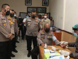 Kapolda Buka Kegiatan Pencanangan Vaksinisasi Bagi Personil Polda Papua