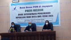 Sidak BPOM Jayapura Takjil Aman Tidak Mengandung Bahan Berhaya