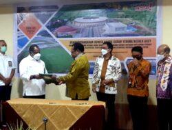 Pemerintah Pusat Serahkan 4 Venue ke Pemprov Papua