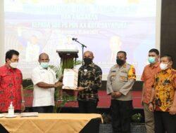 PB PON XX Serahkan Tugas Fungsi dan Anggaran ke Sub PB PON Kota Jayapura