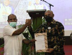 Terima Pergeseran Dana Rp108 Milyar Lebih, Wali Kota Jayapura dan Masyarakat Bertekat Sukseskan PON XX