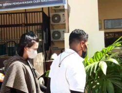 Tiba di Mapolresta Kota Jayapura VLH di Tetapkan Sebagai Tersangka