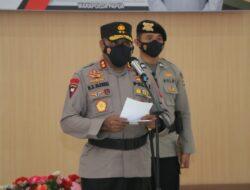 654 Personil dan PNS di Jajaran Polda Papua Naik Pangkat Setingkat Lebih Tinggi