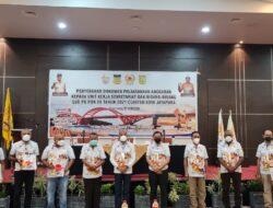 Sub PB PON XX Kota Jayapura Serahkan DPA Kepada Unit Kerja
