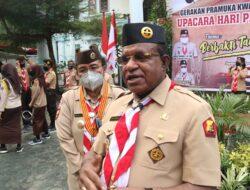 Bina Generasi Muda Papua Lewat Pramuka, Gubernur Papua Apresiasi Ny. Kristhina Mano