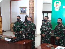 Anggota Koramil Batom Berhasil Amankan 2 Anggota KSTP Beserta 5 Pucuk Senjata