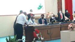DPR Papua Apresiasi Gubernur Papua, Walau Kondisi Kesehatan Belum Pulih Namun Bisa Menghadiri Sidang