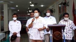 Gelar Vaksinasi Ke 2, Ketua DPD Gerindra Papua Apresiasi Kesadaran Masyarakat