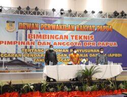 Tingkatan Kapasitas Pimpinan dan Anggota, DPRP Gelar Bimtek
