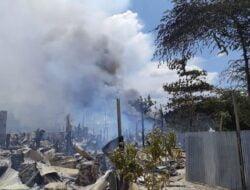 Kebakaran Hebat di Kota Jayapura, Ratusan KK Kehilangan Tempat Tinggal
