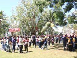Dapat Arahan Dari Wali Kota Jayapura, Bidang Akomodasi Sub PB PON Kumpulkan Para Relawan
