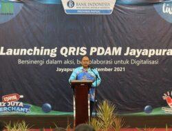 Launching QRIS, Ini Terobosan Berikut Dirut PDAM Jayapura Entis Sutisna