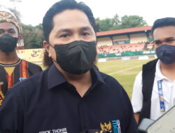 Menteri BUMN Erick Tohir Apresiasi Perhelatan PON XX di Papua