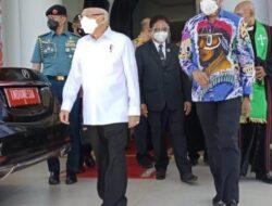 Wali Kota Jayapura Sambut Kunjungan Wapres di GKI Pniel Kotaraja