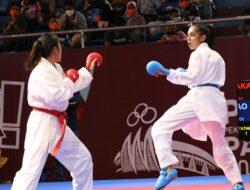 Nona Hitam Manis Sharon Ririhena Persembahkan Emas Untuk Karate Jawa Barat